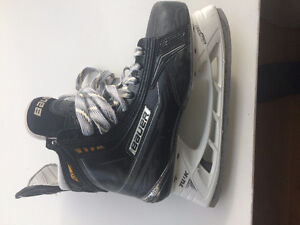 Bauer X100 JR  Skates, Size 4.5 D New, and Size 4 Mx3 EE Supreme