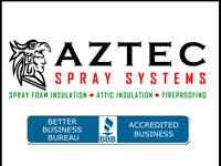 SPRAY FOAM INSULATION, ATTIC INSULATION , FIREPROOFING SERVICES.