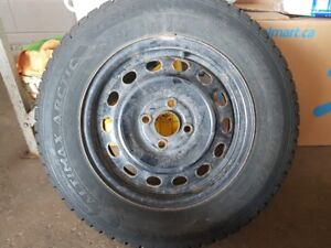 185/70-R14 Set of Winter tires w/ rims, Honda Civic 2005