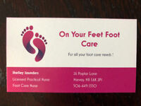 On Your Feet Foot Care