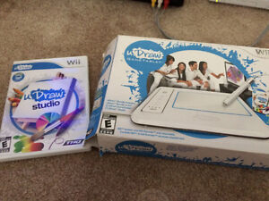 Nintendo Wii U Draw set.....only used one time