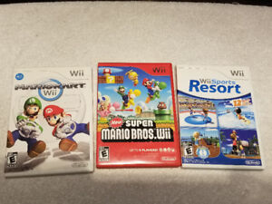 Wii Games, Complete, tested, and in great condition