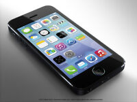 Mint Condition iPhone 55 (Rogers)-Black-32GB=$475