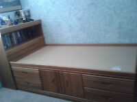 Captains Bed with dresser