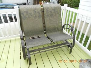 Chaise double pour patio