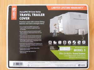 New 22 to 24ft Travel Trailer Cover
