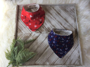 Set of Baby Bibs  With Anchores