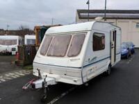 SWIFT LIFESTYLE 450/2 END BATHROOM 2002 [superb caravan must be seen] only £2500
