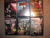 Lot dvd d'horreur vampires/zombies/slashers lot 3