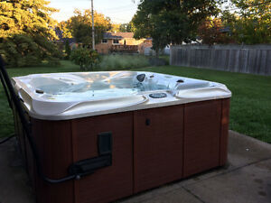 Premium Leisure hot tub