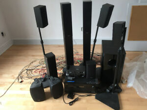 Onkyo skf 780 7.1 home theatre system  + Projector