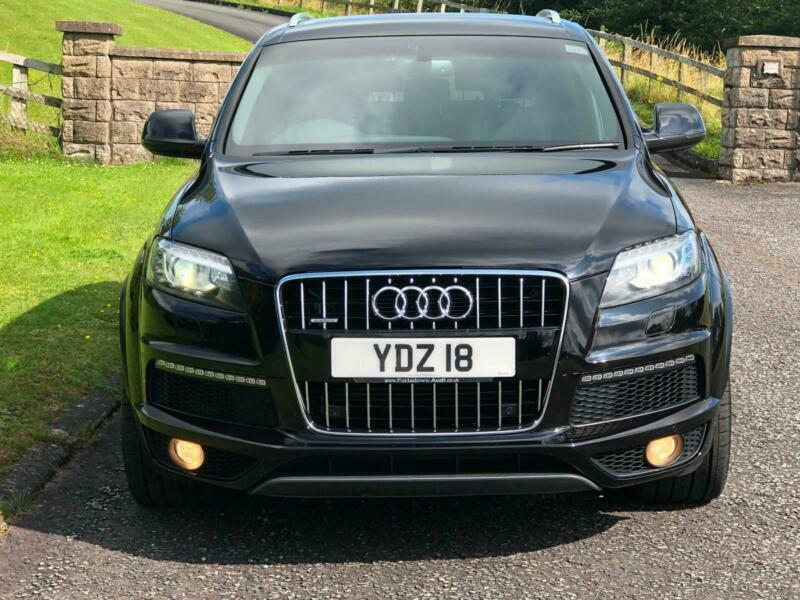 2013 Audi Q7 3 0TDI QUATTRO S-Line Plus 7 SEATER AUTOMATIC 4X4 | in  Banbridge, County Down | Gumtree