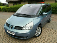 2004 04 REG Renault Grand Espace 3.0dCi V6 auto Initiale FULLY LOADED