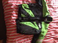 Motorbike textile suit