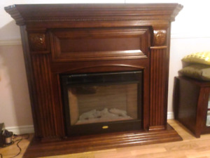 Fireplace in perfect condition