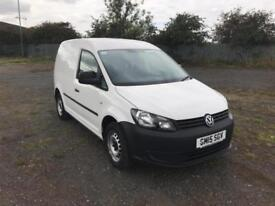 Volkswagen Caddy 1.6 102PS STARTLINE EURO 5 DIESEL MANUAL WHITE (2015)
