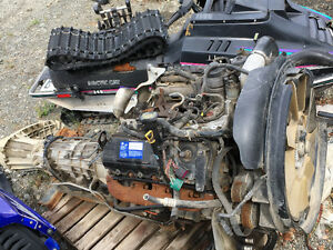 Ford 6.0  Engine ,trans ,transfer case combo