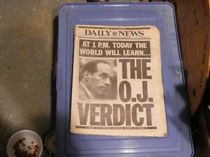 OJ Simpson Trail Coverage by the Daily News