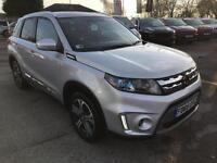 2015 Suzuki Vitara SZ5 URBAN ALLGRIP Petrol silver Manual