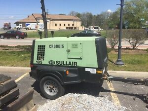 2011 Sullair 185 CFM Compressor