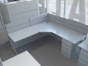 """CUBICLES, WORKSTATIONS, TEKNION TOS 42"""" HIGH ONLY $599.99"""