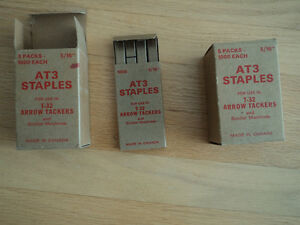 STAPLES AT3   ..FOR t-32 ARROW TACKERS