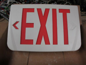 Modern LED store business EXIT sign, multi voltage (AC&DC),