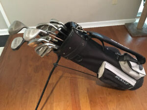 Men's Classic Iron and Woods Golf Set and Bag,  including Putter