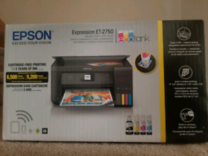 EPSON Expression ET-2750 wireless printer, copy and scanner