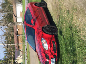 2008 Pontiac G5 Red/black Coupe (2 door)