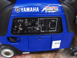 yamaha generator 3000 watt inverter quiet elect start w/battery