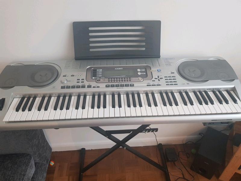 Casio Electronic Keyboard WK3500 76 keys | in Blackheath, London | Gumtree