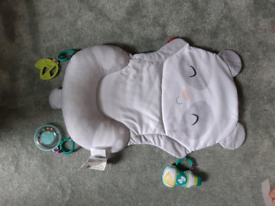 Baby tummy time play mat