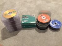 Blank Recordable DVD's & Blank CD's
