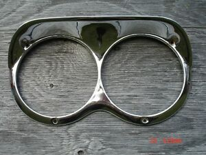 Headlight bezels for 1961 or 1962 Chevy truck