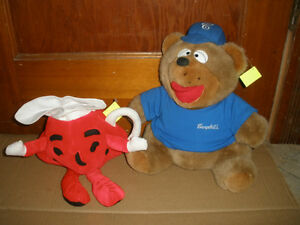 Promotional Plush From the Past - Stuffed Campbell's Soup Bear London Ontario image 2