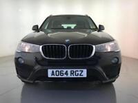 2014 BMW X3 XDRIVE20D SE 4 WHEEL DRIVE DIESEL SAT NAV 1 OWNER SERVICE HISTORY
