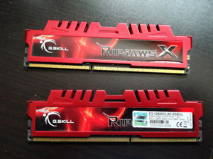 8GB G.SKILL Ripjaws X DDR3-1600 RAM (2 x 4GB)