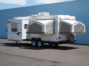 Hybrid Trailer FOR RENT*Sleeps 8*Comes with everything