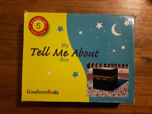 """My Tell Me About Box"" Islamic Children's Books"