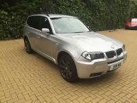 2005/55 BMW X3 3.0d auto M Sport