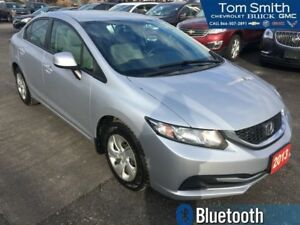 2013 Honda Civic Sedan LX  MANUAL, BLUETOOTH, KEYLESS ENTRY