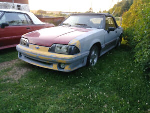 Convertible fox body