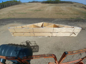40 ft MANUFACTURED TRUSSES WITH SHOP DRAWINGS