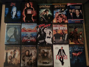 Selling off DVDs Kitchener / Waterloo Kitchener Area image 1