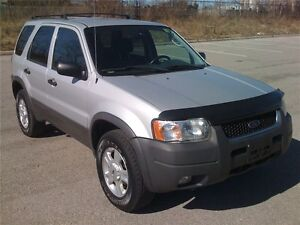 2003 FORD ESCAPE XLT 4X4/NO ACCIDENTS/FOUR NEW TIRES/ONLY 157KM