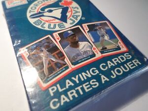 1994 Blue Jays Playing Cards (Factory Sealed) (VIEW OTHER ADS)