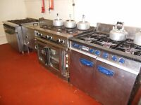 Commercial gas cookers 6 burners