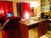 Furnished studio in Hilton's building, 399$/weekly,1595 $/month