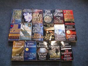 John Grisham books  $15 for the lot